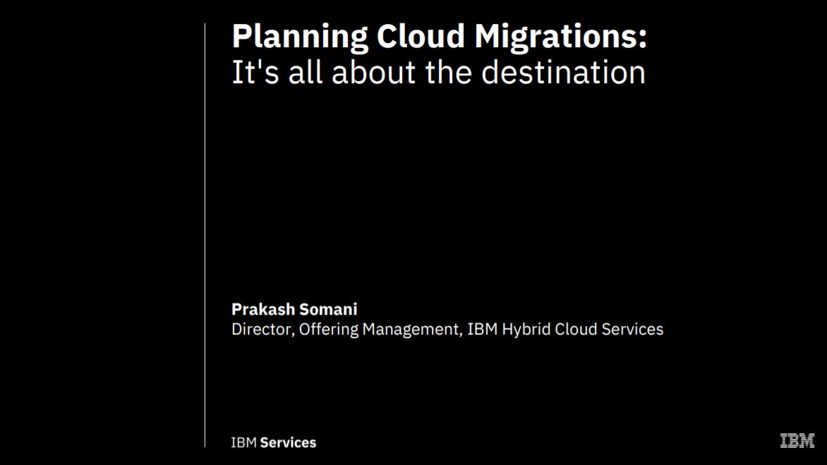 Planification des migrations cloud : Tout dépend de la destination