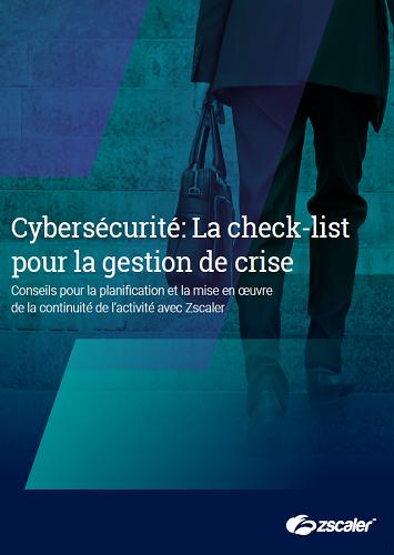 Cybersécurité: La check-list pour la gestion de crise
