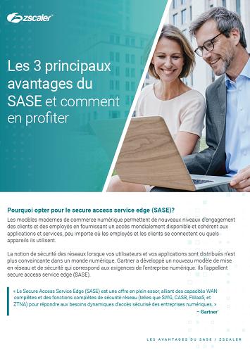 Les 3 principaux avantages du SASE et comment en profiter