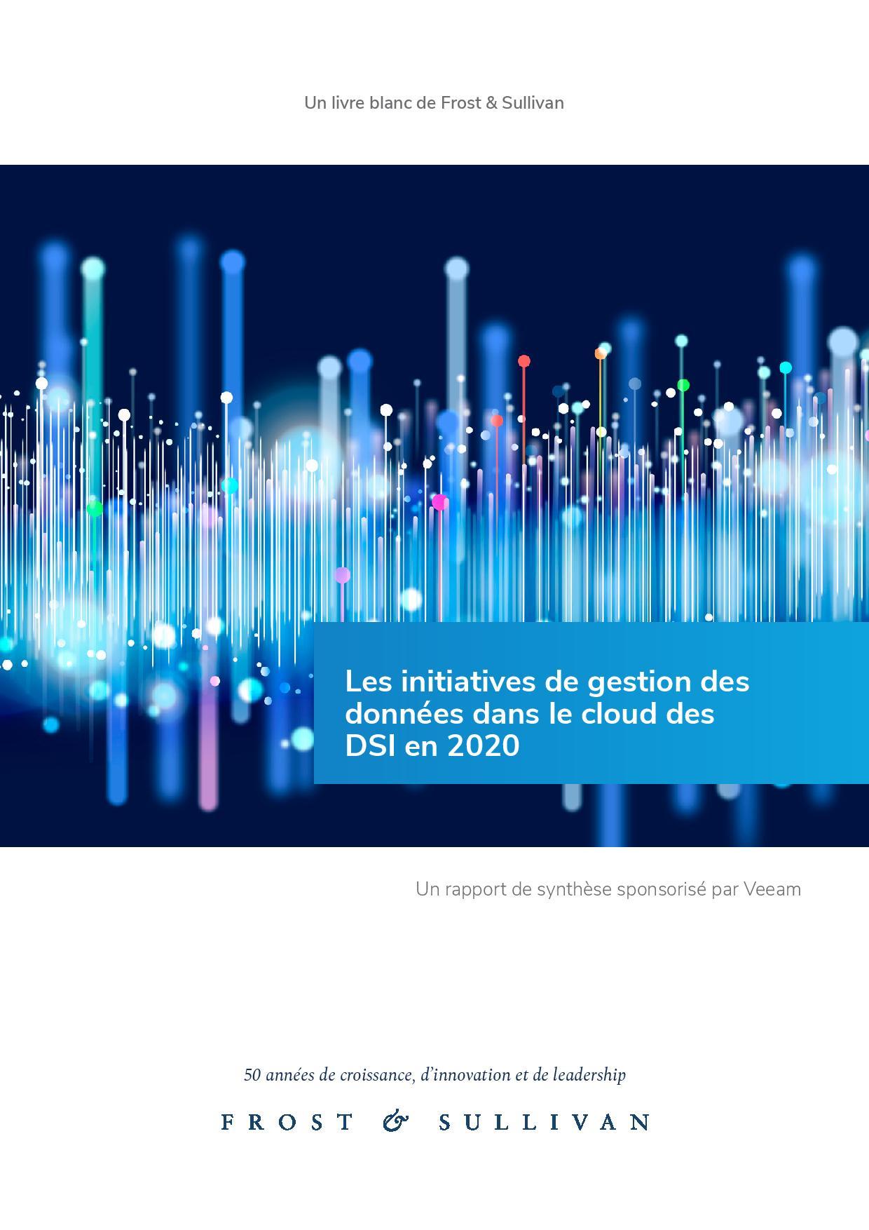 Les initiatives de gestion des données dans le cloud des DSI en 2020