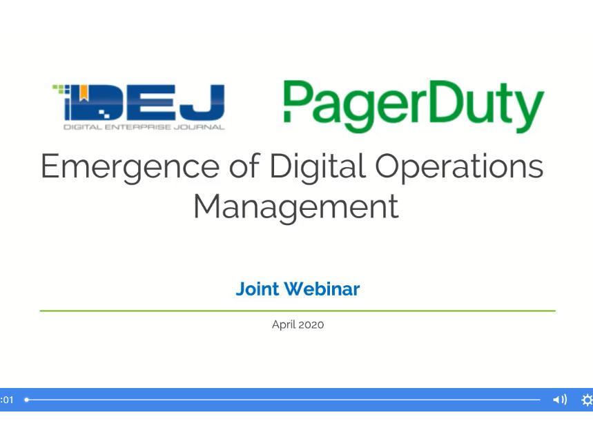 L'émergence de la gestion des opérations digitales