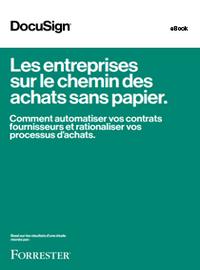 eBook Forrester : les entreprises sur le chemin des achats sans papier
