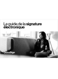 Le guide de la signature électronique