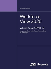 Workforce View 2020 Volume 2 post-COVID-19 : Les perspectives qui ont suivi la pandémie de COVID-19