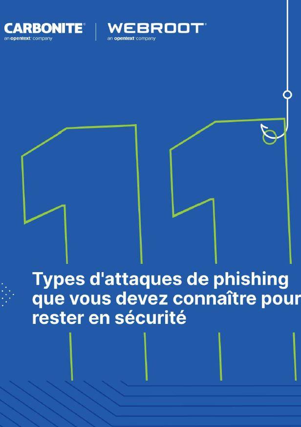 Types d'attaques de phishing que vous devez connaître pour rester en sécurité