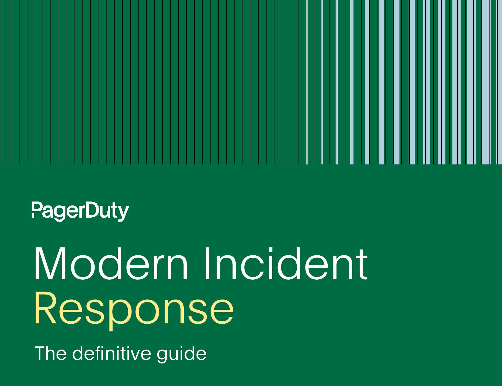La réponse moderne aux incidents: le guide définitif