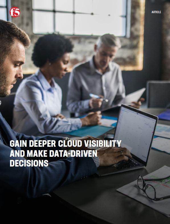 Acquérir une meilleure visibilité du nuage et prendre des décisions fondées sur les données