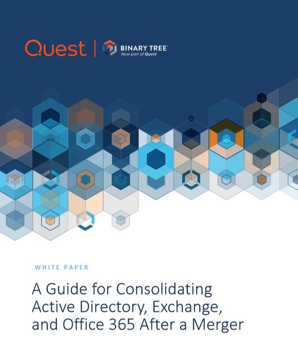 Un guide pour consolider Active Directory, Exchange et Office 365 après une fusion