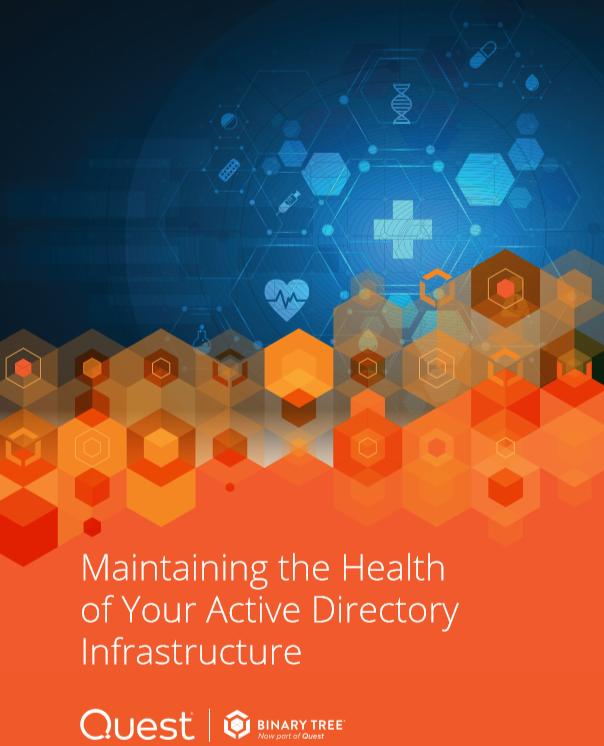 Maintenir la santé de votre infrastructure d'annuaire actif