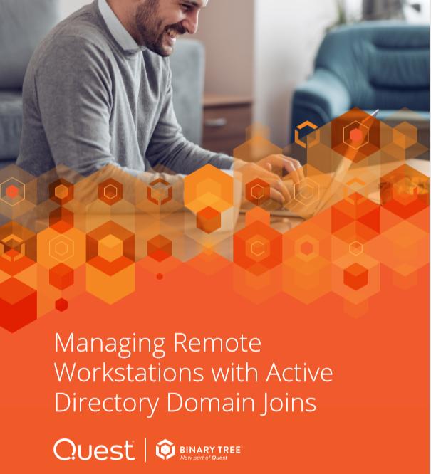 La gestion des postes de travail distants avec le domaine Active Directory rejoint