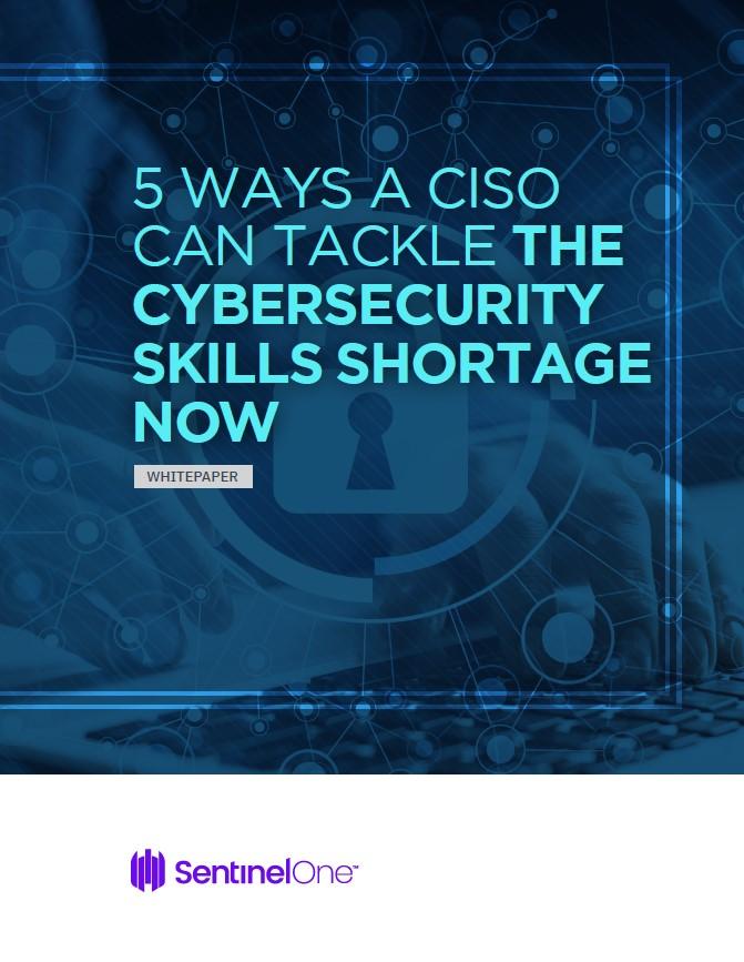 Les 5 façons du RSSI de répondre à la pénurie de compétences en cybersécurité