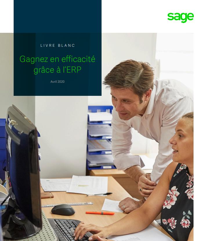 Gagnez en efficacité grâce à l'ERP