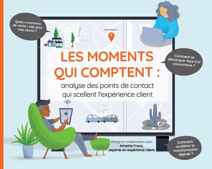 Les moments qui comptent: analyse des points de contact qui scellent l'expérience client.