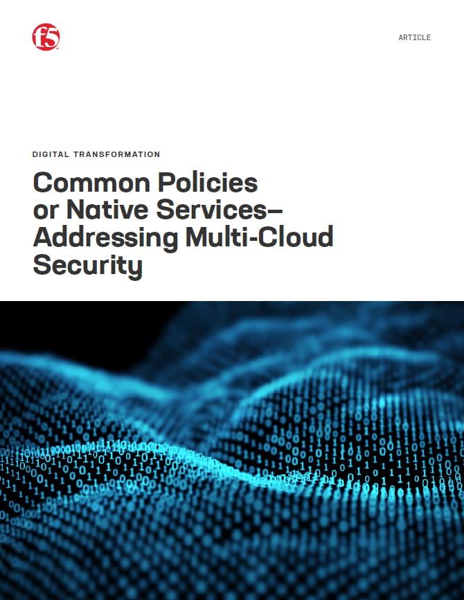 Politiques communes ou services natifs: vers la gestion de la sécurité multi-cloud