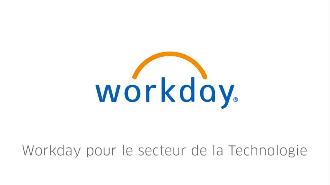 Démo Produit : Workday pour le secteur de la Technologie