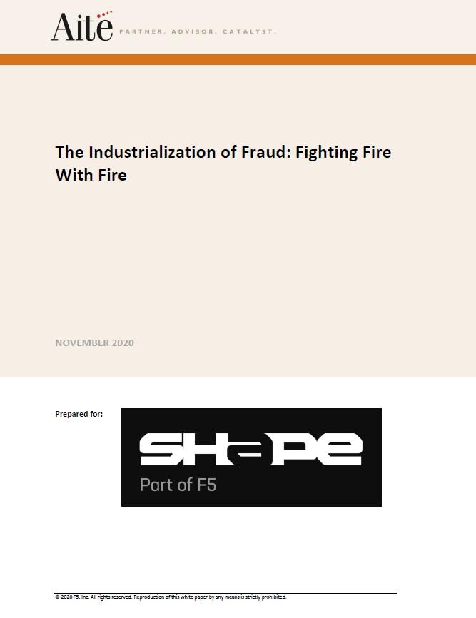 L'industrialisation de la fraude : combattre le feu par le feu