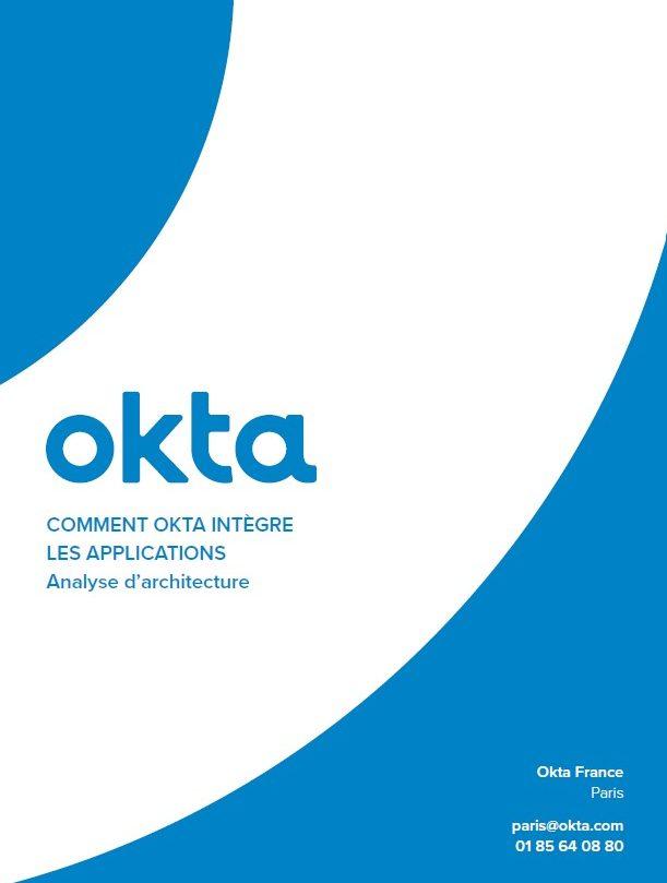 Comment l'intégration d'applications marche dans Okta