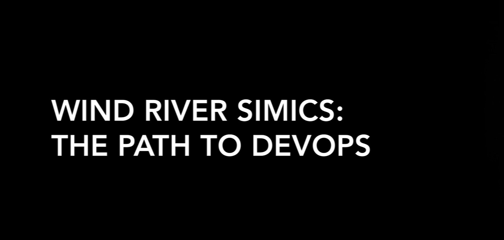 Wind River Simics – La voie vers le DevOps