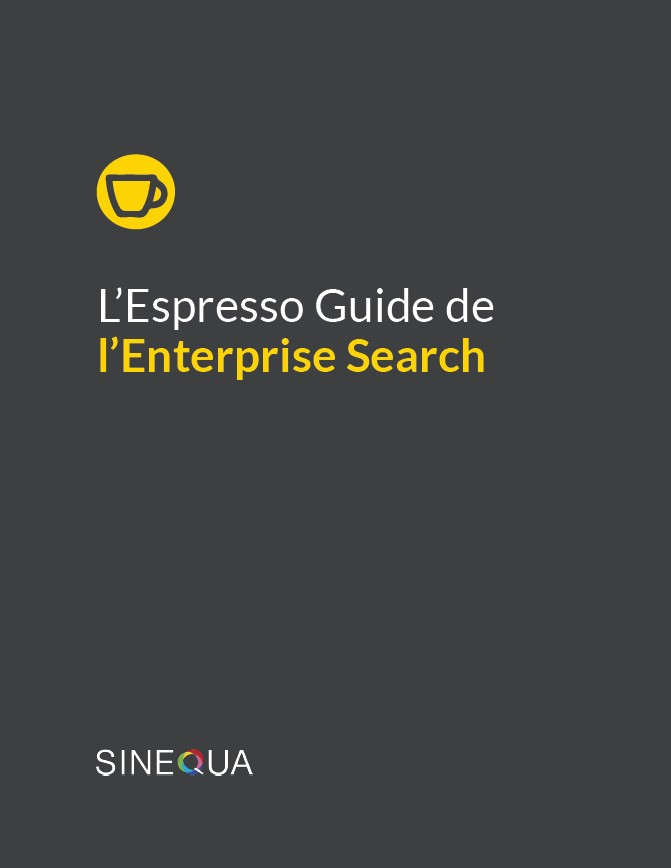 L'Espresso Guide de l'Enterprise Search