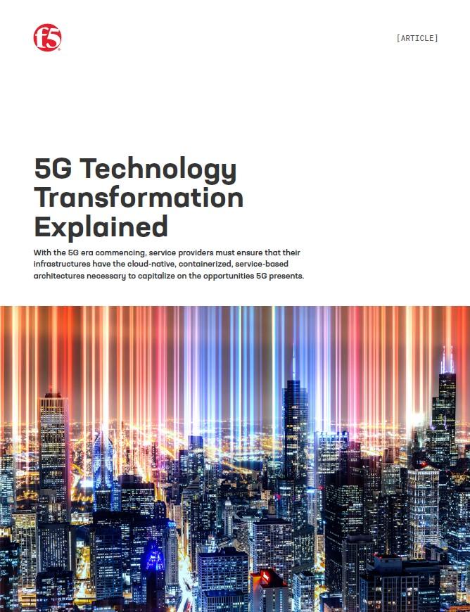 La transformation de la technologie 5G expliquée