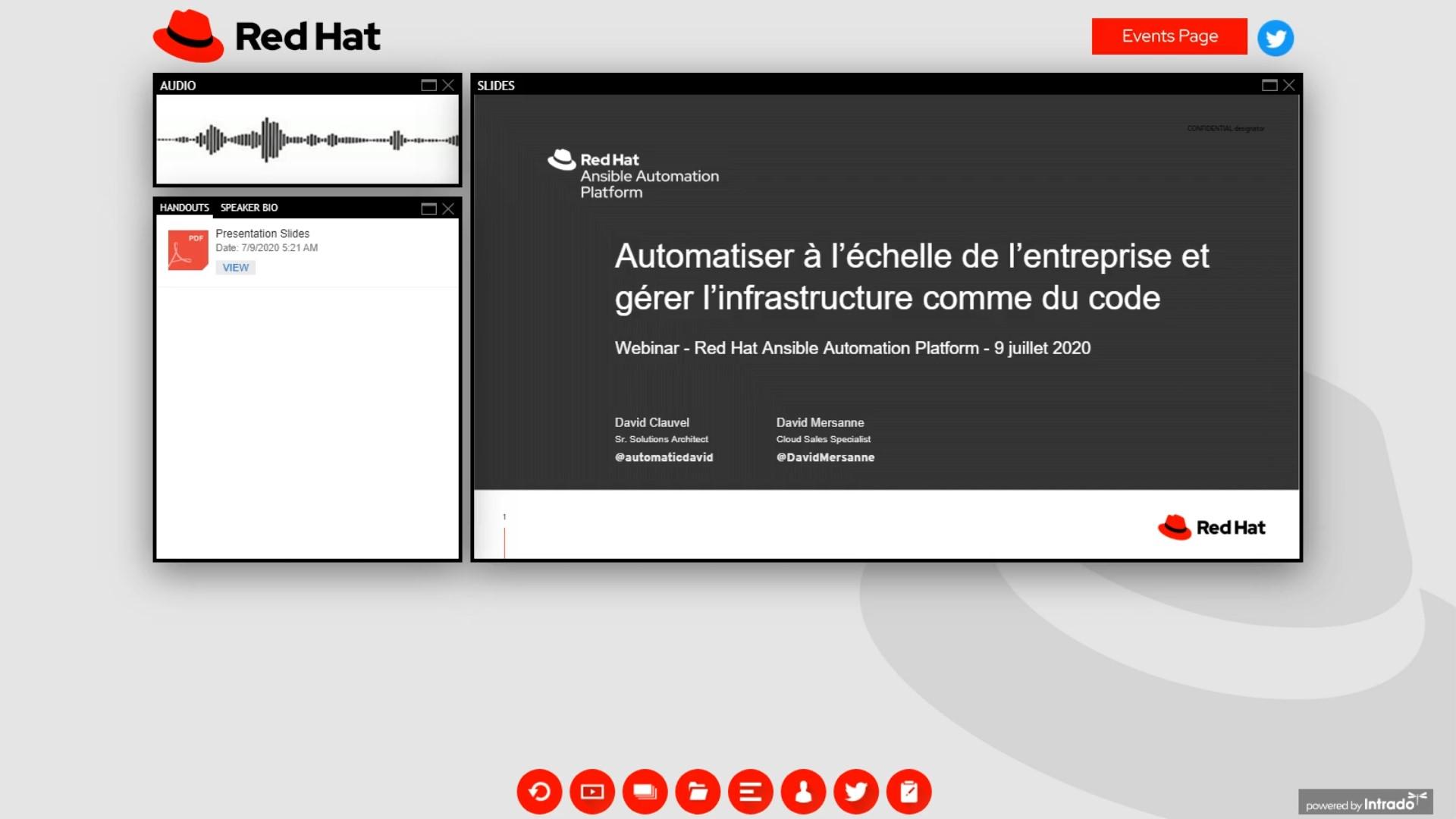 Automatiser à l'échelle de l'entreprise et gérer l'infrastructure comme du code avec Red Hat Ansible Automation Platform