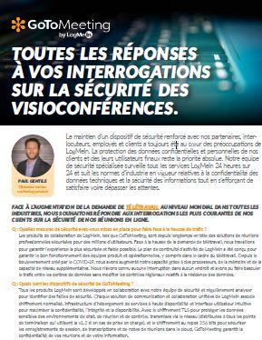 Toutes les réponses à vos interrogations sur la sécurité des visioconférences