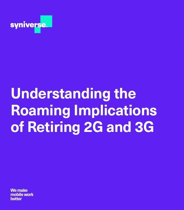 Comprendre les implications de rétirer la 2G et la 3G