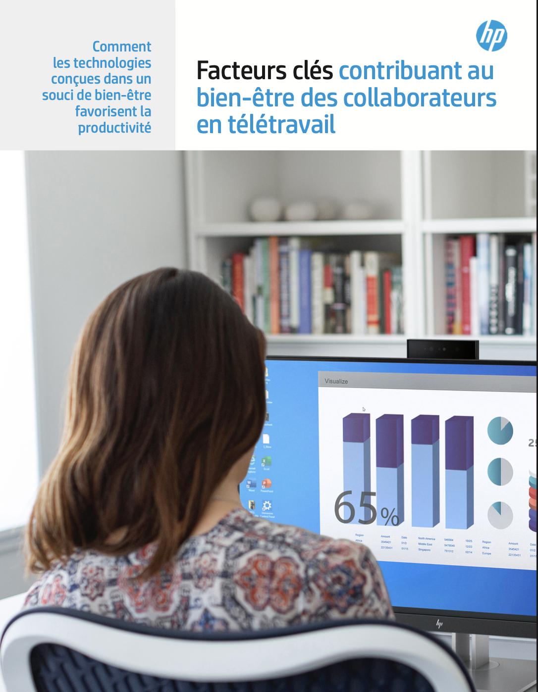 Facteurs clés contribuant au bien-être des collaborateurs en télétravail.