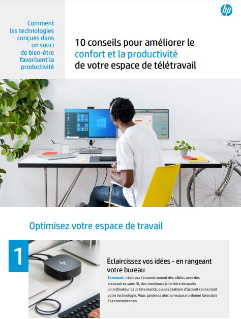 10 conseils pour améliorer le confort et la productivité de votre espace de télétravail
