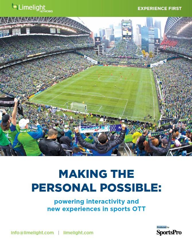 Faire le personnel possible : stimuler l'interactivité et les nouvelles expériences dans le sport OTT