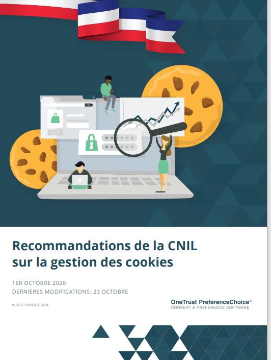Recommandations de la CNIL sur la gestion des cookies