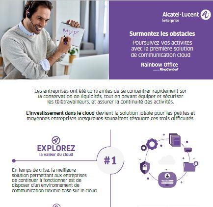 Rainbow Office powered by RingCentral, la solution globale de communication et de collaboration pour votre entreprise
