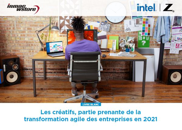Les créatifs, partie prenante de la transformation agile des entreprises en 2021.