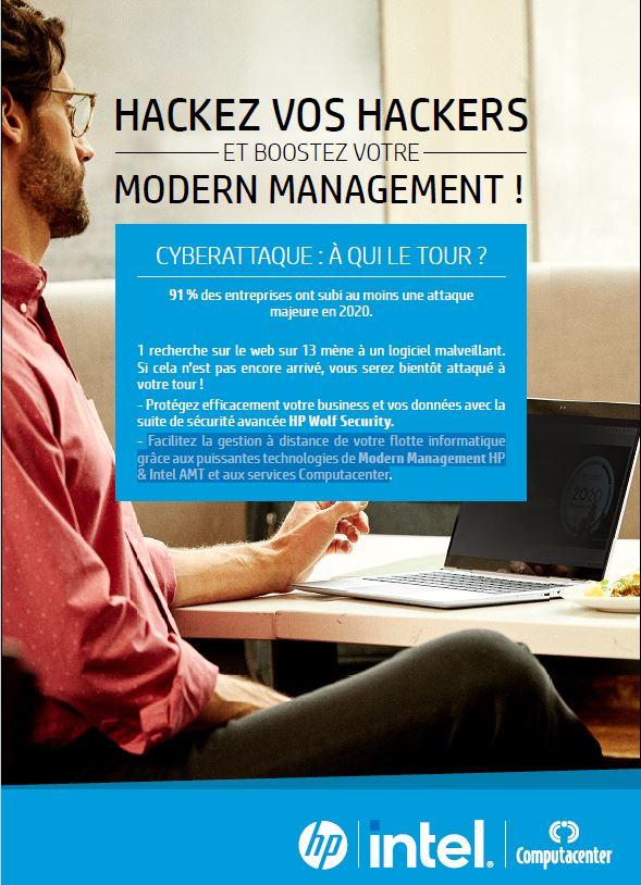 Hackez vos hackers et boostez votre modern management !