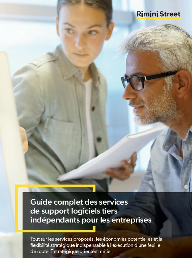 Guide complet des services de support logiciels tiers indépendants pour les entreprises
